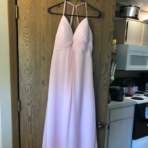 Formal blush dress